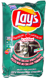 Lay's Tastes of Canada Toronto College Street Pizza
