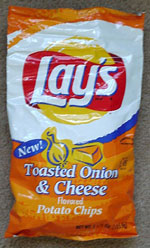 Lay's Toasted Onion & Cheese Flavored Potato Chips