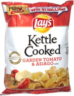 Lay's Kettle Cooked Garden Tomato & Asiago