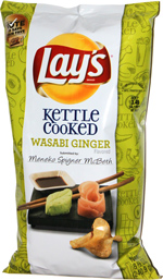 Lay's Kettle Cooked Wasabi Ginger