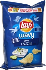 Lay's Wavy Greek Tzatziki