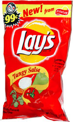 Lay's Tangy Salsa Potato Chips