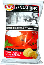 Lay's Sensations Sweet Chili & Sour Cream Kettle Cooked Potato Chips