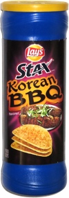 Lay's Stax Korean BBQ