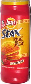 Lay's Stax Que Rico Adobadas