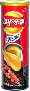 Lay's Stax Sizzled Barbecue Flavor