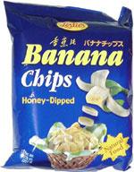 Leslie's Banana Chips Honey-Dipped