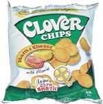 Clover Chips Ham & Cheese Unique Corn Snack