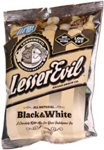 Lesser Evil Sinfully Better Black & White Popcorn