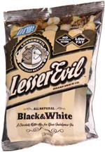 Lesser Evil Sinfully Better Black & White Popcorn