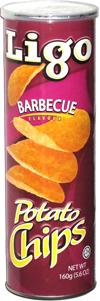 Ligo Barbecue Flavour Potato Chips
