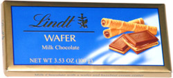 Lindt Wafer Milk Chocolate