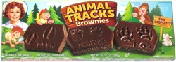 Little Debbie Animal Tracks Brownies