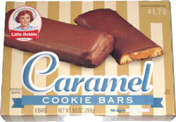 Little Debbie Caramel Cookie Bars