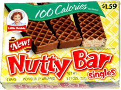 Little Debbie 100 Calorie Nutty Bar Singles