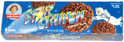 Little Debbie Star Crunch Cosmic Snacks