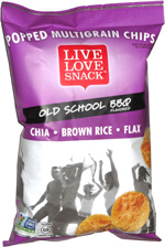 Live Love Snack Popped Multigrain Chips Old School BBQ