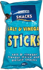Londis Salt & Vinegar Sticks