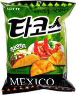 Lotte Mexico Food Snack Shrimp Taco