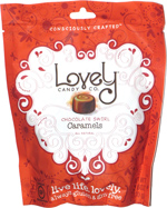 Lovely Candy Co. Chocolate Swirl Caramels