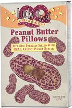 Lucky Twist Peanut Butter Pillows