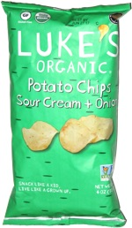 Luke's Organic Potato Chips Sour Cream & Onion