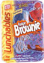 Lunchables Fun Snacks Fudge Brownie