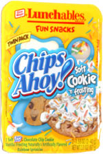 Lunchables Fun Snacks Chips Ahoy! Soft Cookie 'n Frosting