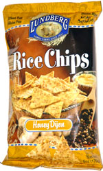 Lundberg Rice Chips Honey Dijon