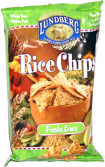 Lundberg Rice Chips Fiesta Lime