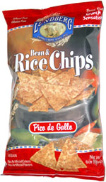 Lundberg Bean & Rice Chips Pico de Gallo