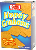 Market Basket Honey Grahams