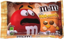 M&M's White BOO-tterscotch