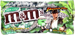Mint Crisp M&M's Adventures of Indiana Jones