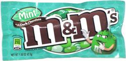 Mint Dark Chocolate M&M's