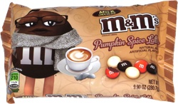 M&M's Pumpkin Spice Latte