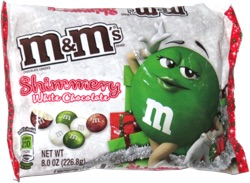 M&M's Shimmery White Chocolate