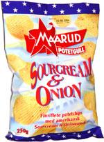 Maarud Potetgull Sour Cream & Onion