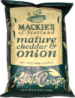 Mackie's of Scotland Mature Cheddar & Onion Potato Crisps
