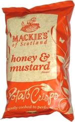 Mackie's of Scotland Honey & Mustard Potato Chips
