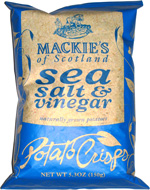 Mackie's of Scotland Sea Salt & Vinegar Flavor Potato Crisps