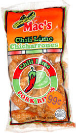 Mac's Chili Lime Pork Rinds