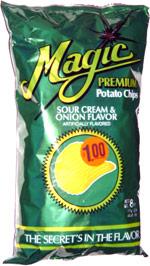Magic Premium Sour Cream & Onion Potato Chips