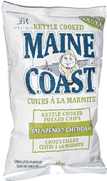 Maine Coast Jalapeño & Cheddar Potato Chips