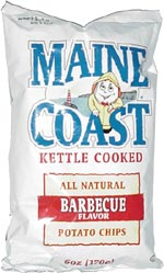 Maine Coast Kettle Cooked Barbecue Potato Chips