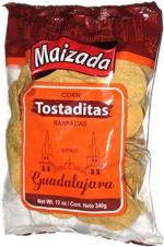 Maizada Corn Tostaditas Raspadas Estilo Guadalajara
