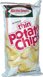 Manischewitz Thin Potato Chips