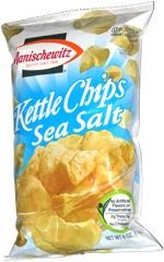 Manischewitz Kettle Chips Sea Salt