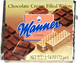 Manner Chocolate Cream Filed Wafers