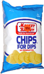 Market Basket Chips for Dips